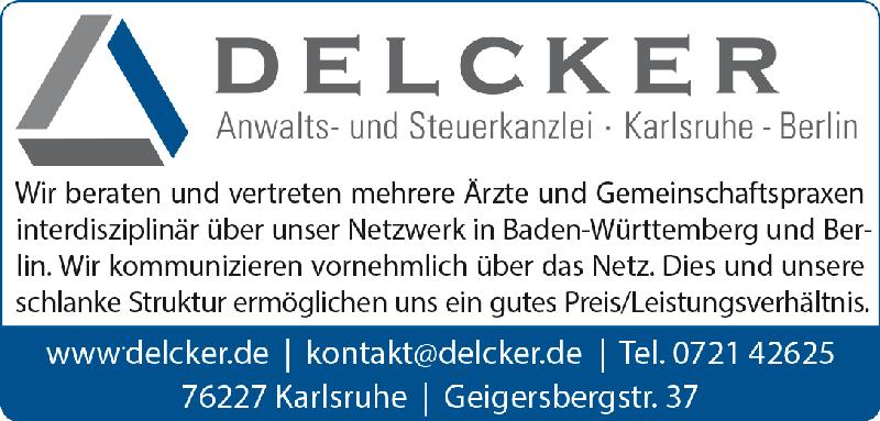 Anzeige im Ärzteblatt Baden-Württemberg